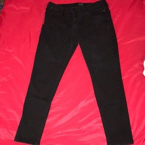 "a.n.a black distressed jeans.Size 14 29""inseam"